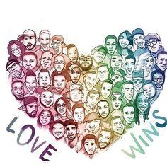 Love is love is love is love ❤️💛💚💙💜 (📸 @womensmarch) . . . . . #FiredUpPinellas #FiredUpReadyToGO #Resistance #feminism #equality #firedup #resist #trump #blacklivesmatter #BLM #justice #socialjustice #lgbtq #firstamendment #freespeech #nobannowall #nomuslimban #motherearth #science #climatechange #prochoice #mybody #pridemonth #stpetepride #GOP