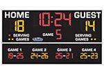 """All American Scoreboard# 8614 5'0"""" x 9'0"""" Volleyball Scoreboard"""