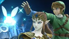 大乱闘スマッシュブラザーズ for Nintendo 3DS / Wii U:ゼルダ