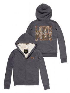 Victoria's Secret PINK Faux-fur Signature Zip Hoodie #VictoriasSecret http://www.victoriassecret.com/pink/tops/faux-fur-signature-zip-hoodie-victorias-secret-pink?ProductID=82387=OLS?cm_mmc=pinterest-_-product-_-x-_-x