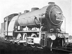 GER Class Decapod, by Holden at Stratford Works Diesel Locomotive, Steam Locomotive, Weather Storm, Milwaukee Road, Train System, Steam Railway, Old Trains, New York Central, Thomas The Tank