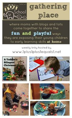 Tot School Gathering Place ~ browse through other Tot School blogs and link up your own post!