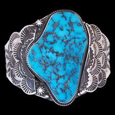 Navajo Castle Dome Turquoise Bracelet - Eugune Livingston