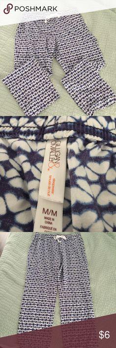 Gilligan & O'Malley Sleep Pants Gilligan & O'Malley size medium sleep pants in great condition Gilligan & O'Malley Intimates & Sleepwear Pajamas