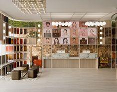 Lucciano´s Icecream & coffee shop, Olivos on Behance Cafe Design, Store Design, 3d Autocad, Interior Architecture, Interior Design, Visual Communication, Restaurant Design, Behance, Club