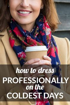 A young lawyer wondered how to dress professionally on the coldest days -- particularly, what to wear to court in winter. We rounded up some advice...