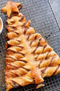 Churro Nutella Christmas Tree is a stunning & easy to make Christma., Desserts, Churro Nutella Christmas Tree is a stunning & easy to make Christmas dessert! Churro meets the most popular Nutella Pastry Christmas Tree. Christmas Brunch, Christmas Pudding, Christmas Breakfast, Christmas Cooking, Christmas Tree, Christmas Sweets, Christmas Dinner Dessert Ideas, Dinner Ideas, Xmas Desserts