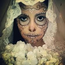 Wedding Sugar Skull if i was brave enough this would be my wedding makeup. <3