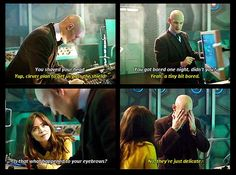This is why the doctor needs a companion with him all the time