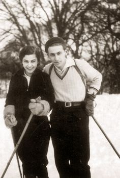 Miklos Radnoti and his wife, Fanni Old Pictures, Old Photos, Heart Of Europe, Writers And Poets, Play Soccer, Vintage Winter, Big Love, The Martian, Vintage Travel Posters