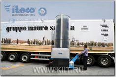 ITECO TRUCK WASH 500 E щеточная автомойка электрическая