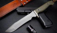 Alpha Combat Knife by Vehement knives