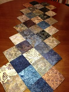 Zig Zag Table Runner Pattern From Missouri Star Quilt Co . Table Runner And Placemats, Table Runner Pattern, Quilted Table Runners, Place Mats Quilted, Quilted Table Toppers, Missouri Star Quilt, Sewing Table, Quilt Tutorials, Mug Rugs
