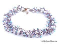 DIY Jump Knotting Necklace Kit / Crystal Lavender by manarata, €35.00