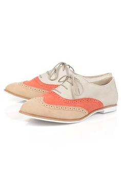 Im a loyal fan of Brogues they're comfy look great with most outfits and when they come in these beautiful pastel in season shades...perfecto! $49.00