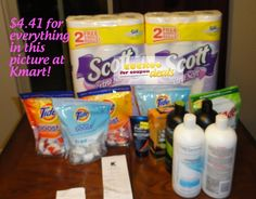 Learn how to DOUBLE coupons at Kmart and save 90%!