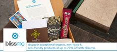 discover exceptional organic, non-toxic and eco-friendly products with blissmo!