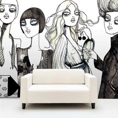 Your Wallpaper company.  A new collection of wallpapers with Sweden's most famous designers and illustrators!