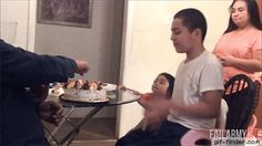Birthday Cake Prank | Gif Finder – Find and Share funny animated gifs