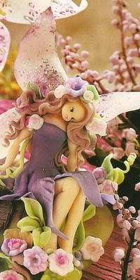 How to Make Fondant Fairy