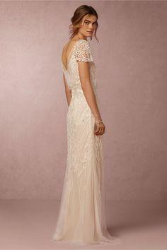 $1000 - Find a cheaper alternative!! - BHLDN Aurora Gown in Bride Wedding Dresses at BHLDN More