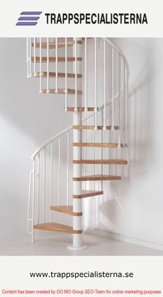 Maximize your Living Space with Spiral Stairs #Staircaes, #StaircaseDesign, #SpiralStaircase, #Architecture