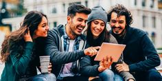 The marketing that millennials want to see from brands Mobile Marketing, The Marketing, Content Marketing, Social Media Marketing, Marketing Articles, Los Millennials, Moving To Canada, Young Americans, Young People