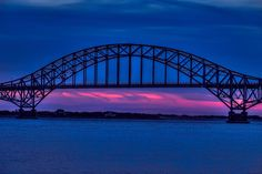 Night Crossing by Dave Curtin on Captured from an overlook in Captree State Park, Oak Beach, NY. State Parks, Fire Island, Long Island, Best Places To Live, Sydney Harbour Bridge, Lighthouse, Ocean, Explore