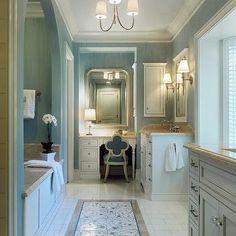 Arched Bathtub Alcove, Traditional, bathroom, Jeannie Balsam