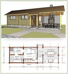 Exterior home design country small houses ideas Siding Colors For Houses, Exterior House Colors, Interior Exterior, Exterior Design, A Frame House Plans, Small House Plans, Sauna House, House Bath, Sauna Design