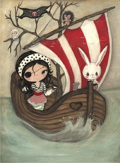 Kelly Ann (the poppy tree): Whimsical Art, Prints, Jewelry & Dolls
