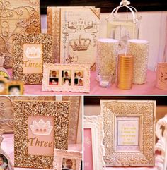 An Pink Princess Party From KaLice Events PartyPrincess ThemeRoyal