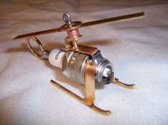 Spark Plug helicopter $12 etsy
