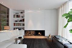 Today I Like: Belgian Interiors by Oscar V - Molto interessanti questi lavori dello studio belga Oscar V.  Mi ha colpito la fusione perfetta tra elementi contemporanei, eleganza classica e lumi...