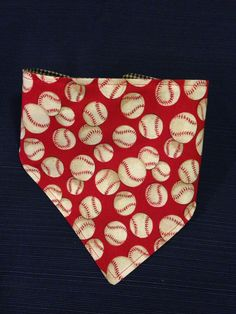 Baseball Bandana Drool Catcher