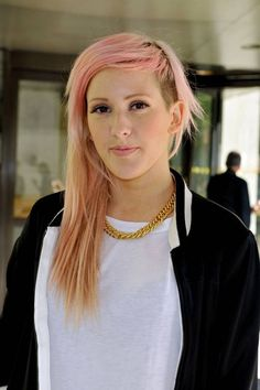 Ellie Goulding undercut hairstyle what to ask for