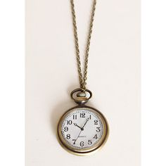 I'll be Waiting Clock Necklace