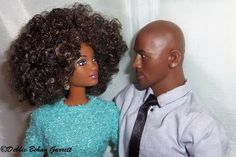 """So in Style Grace with """"the real"""" Michael Jordan (head) by Head Play on an action figure body"""