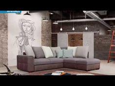 Michael ülőgarnitúra, kanapé, sarok ülőgarnitúra, ágyazható ülőgarnitúra| kanape-shop.hu - YouTube Couch, Modern, Youtube, Furniture, Home Decor, Settee, Trendy Tree, Decoration Home, Sofa
