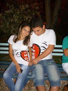 Personalize sua camiseta para o Dia dos Namorados : Faça como Luana Barreto & Victor Alencar, personalize sua camiseta para o Dia dos Namorados.  http://www.camisetasdahora.com/camisetas_modelos.php | camisetasdahora