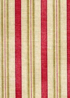 General Store Stripe Crimson