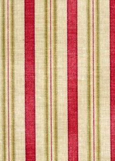 General Store Stripe Crimson