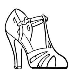Free Vector Art: High Heel Sandal