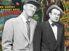 Satch & Slip a. The Bowery Boys. The Bowery Boys, Classic Comedies, Childhood Memories, Bobby, Art Photography, Comedy, Suit Jacket, Movies, Jackets