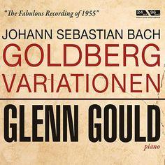 """De álbum """"Johann Sebastian Bach: Goldberg Variationen"""" del Glenn Gould en Napster"""
