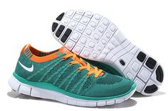 size 40 78d18 92afd Buy Nike Free Flyknit Womens Running Shoes Blue Orange White Super Deals  from Reliable Nike Free Flyknit Womens Running Shoes Blue Orange White  Super Deals ...