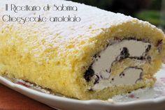 Cheesecake arrotolato ricetta golosa