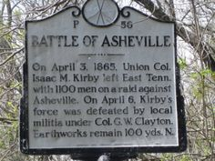 See the Earthworks for the Battle of Asheville at The Botanical Gardens at Asheville in gorgeous Asheville NC! North Carolina History, North Carolina Homes, South Carolina, Forgetting The Past, Gettysburg, Asheville Nc, Guerrilla, American Civil War, Military History