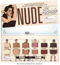 the Balm NUDE DUDE - Paleta 12 satynowych, niezwykle gładki cieni w tonacjach nude. Paleta uniwersalna, zawierająca odcienie jasne rozświetlające, jak i ciemniejsze dla mocniejszego efektu. Zamknięta w charakterystyczne dla marki theBalm opakowanie w stylu vintage.