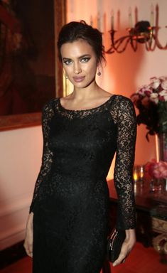 Irina Shayk Gets Lacy in Dolce & Gabbana at The 2013 White House Correspondents' Association Dinner | Fashion Gone Rogue: The Latest in Editorials and Campaigns